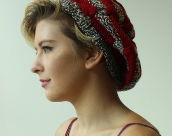 Handmade Cable Knit Tam