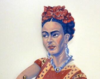 Frida Kahlo Articulate Paper Doll - Paper Puppet - DIY Printable PDF