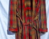 Vintage STYLE-RITE Wool Robe  England