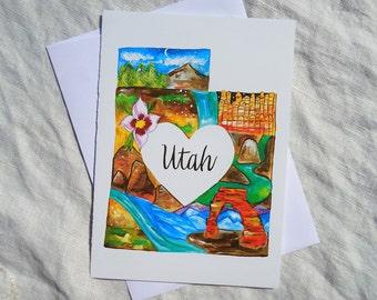 Utah State Card
