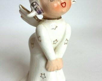 Vintage Kissing Angel Porcelain Japan