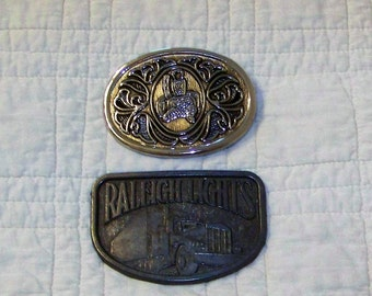 Avon Western Buckle And Raleigh Lights Buckle