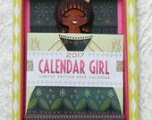 2017 Calendar Girl #160 of 500 - Brunette with Bow