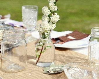 Burlap Silverware Holders Boho Wedding The Wild Raspberry