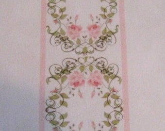 Dollhouse Carpet, Runner carpet, Hall carpet,    Runner, as shown, Velvette carpet,  twelfth scale, dollhouse miniature