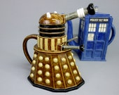 Highly Detailed Dalek Teapot - Made to Order