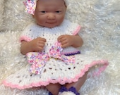 Clothes For 14 inch dolls,15 inch dolls and 9  Inch Dolls. Dress Set