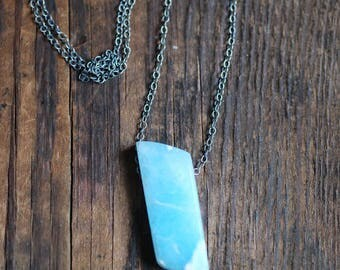 Open Sky Pendant Rare Smithsonite Gem