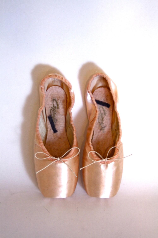 Vintage Ballet Pointe Shoes For Sale