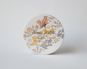 Folk Art Nature Paper Masking Tape