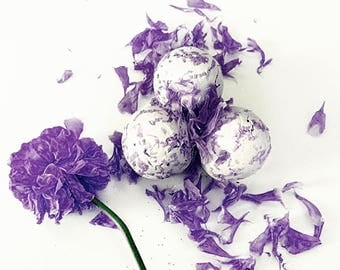 California Wild Flower Botanical Seed Bombs ™ 50 Plant-able Seed Balls Easy Gardening DIY Wedding Favors