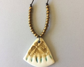 Ceramic Statement Pendant