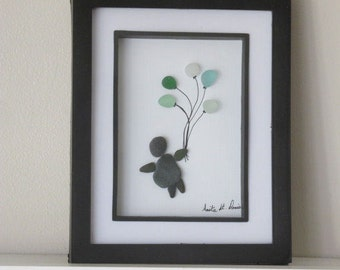 Balloons Art, Birthday Art, Sea Glass Art, Balloon Flying Art, Fun Art, Birthday Balloons, Baby Shower Art, Nursery Art