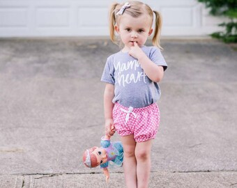 Shorties | Polka Dots | Sizes 3 Months to 5T | 4 Color Options | girl shorts, baby girl