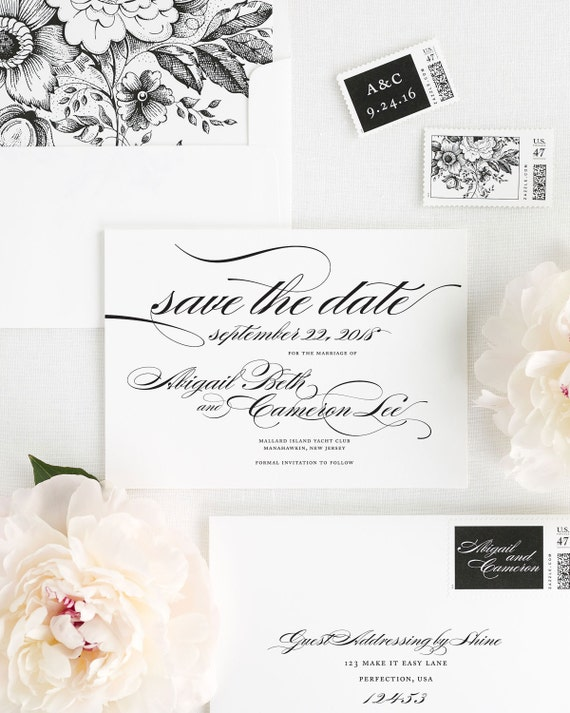 Marriage Save the Date - Deposit
