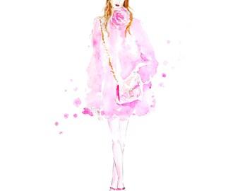 Pink Gucci Print