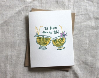 Two to Tiki Card