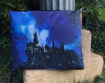 Riverboat View of Hogwarts Floor Pillow Pet Beds