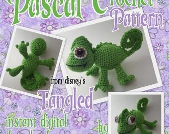 Pascal Chameleon Crochet Pattern