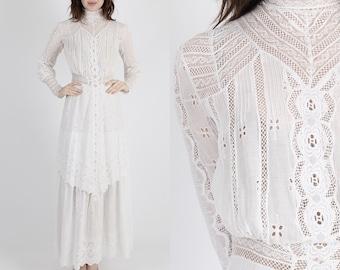 Edwardian dress - Etsy