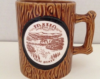 Idaho Mug Ceramic Coffee Cup Gem State