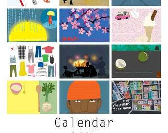 Calendar 2017 : A year of the little things