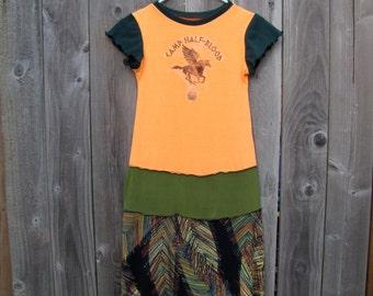 Camp Half-Blood Percy Jackson Upcycled Dress Size 9/10