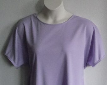 S- 2X Post Surgery Shirt - Shoulder,  Breast Cancer, Mastectomy/ Adaptive Clothing / Hospice / Rehab / Breastfeeding-Style Tracie Wickaway