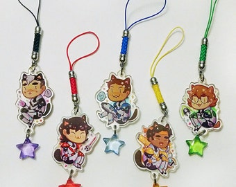 Kitty Paladin Voltron Charms