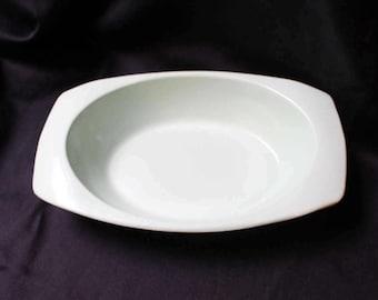 Melamine Oval Serving Bowl by PROLON Light Green