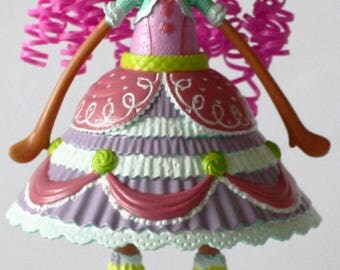 Lalaloopsy Girls Cake Design Fancy Frost 'N' Glaze Doll Custom Repaint - Cute !!