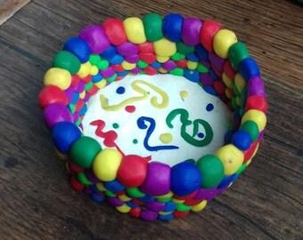 Psychadelic Rainbow Pot