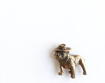 Vintage Mack Truck Tie Tack Lapel Pin Bulldog Trucking Collectible