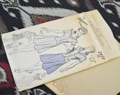 1940s Advance Middy Blouse/Skirt Pattern, #2950, Size 16 (34 Bust, 37 Hip, 28 Waist)