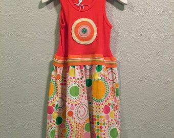 Size 2, 6, 8 - Lite Brite TShirt Dress