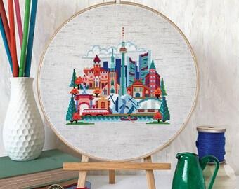 Pretty Little Toronto : Satsuma Street Jody Rice cross stitch patterns embroidery wall art