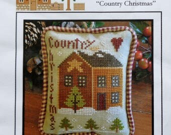 Counted Cross Stitch Pattern | COUNTRY CHRISTMAS | Little House Needleworks | Christmas Ornament | Diane Williams |