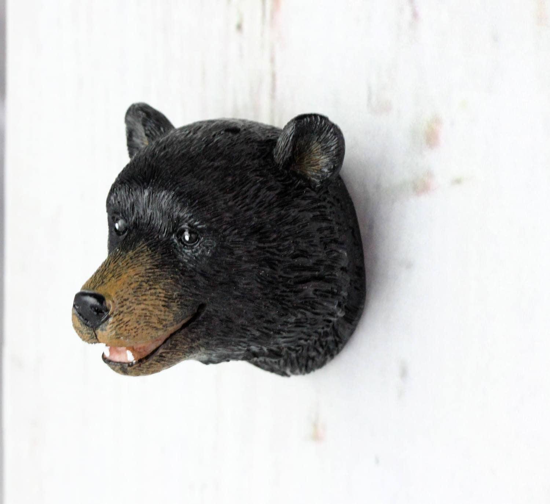 Bear Head Knob Woodland Nursery Cabinet Knobs Drawer