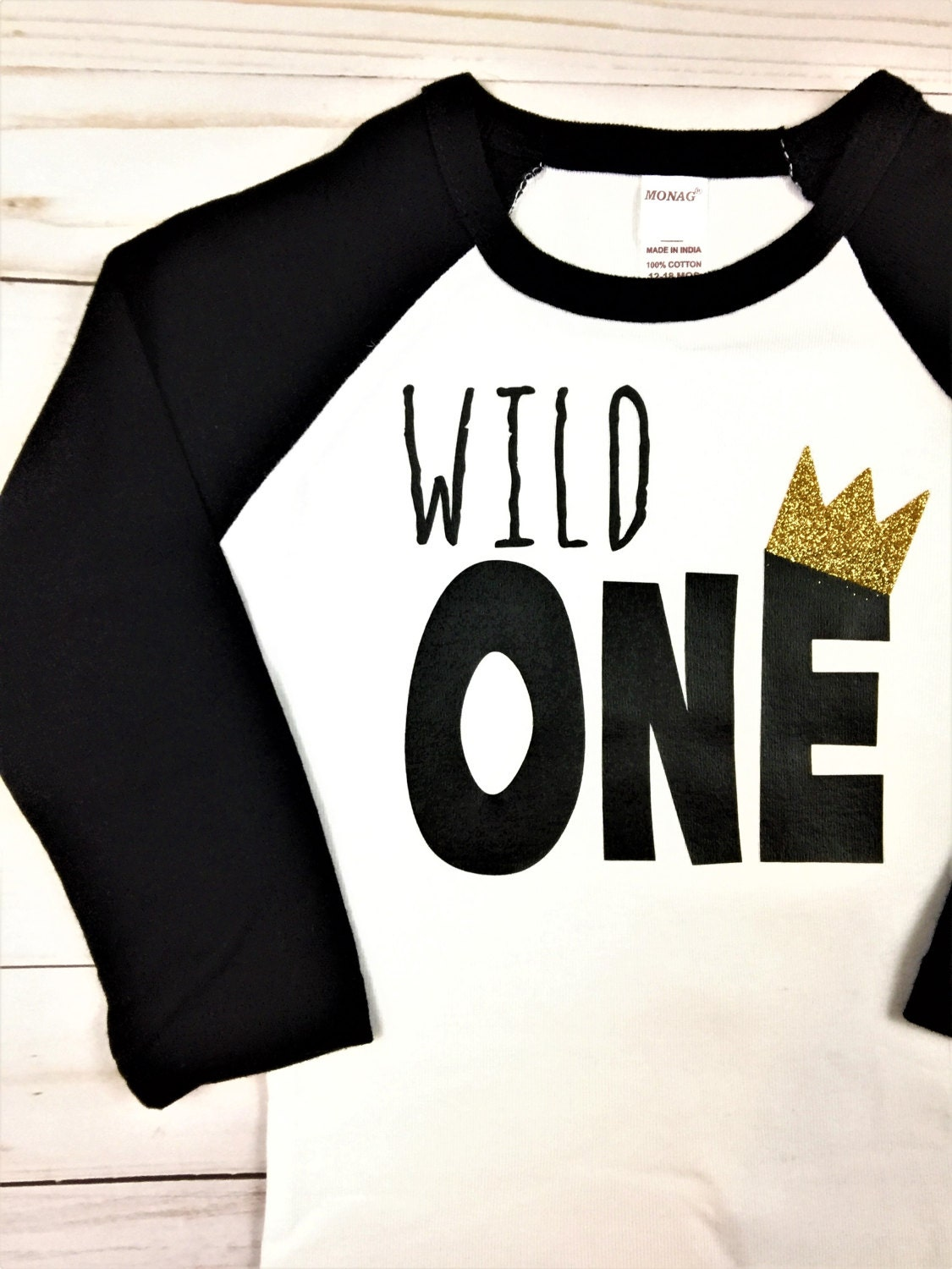 Wild One Raglan Shirt Or Bodysuit Wild One Shirt Family
