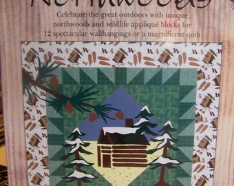 "Quilt Book ""Spirit of the Northwoods"" Soft Cover 112 Pgs."
