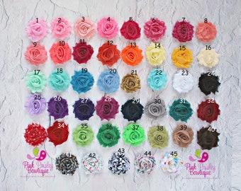 You Pick 2 Mini Shabby Baby Headband Set - Baby Hair Accessories - Baby Shower Gift - Baby Girl Headbands - Infant Headband - Hair Bows