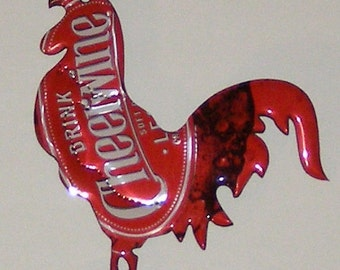Rooster Magnet -  Cheerwine Soda Can (011717b)