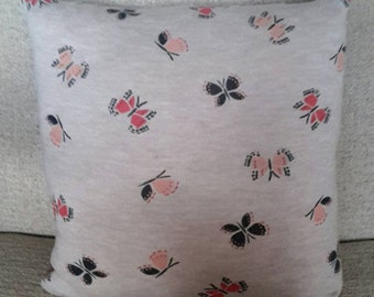 Upcycled Butterfly Cushion