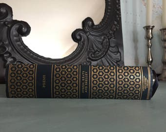 Blue and Gold Gilt Vintage Book of Poems