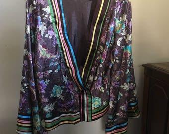 Kimono Style Crop Wrap