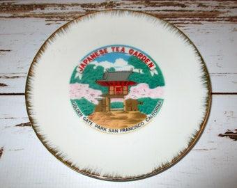 San Francisco Collectible Japanese Tea Garden Plate