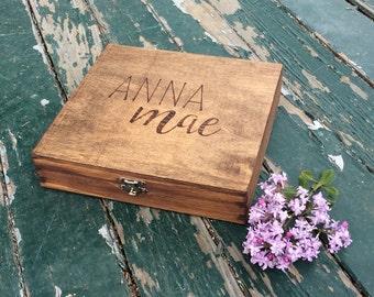 baby box, bridal party box, will you be my bridesmaid, maid of honor, bride, baby, baby shower, sweet 16, stationary box