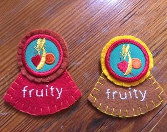 Fruity brooch