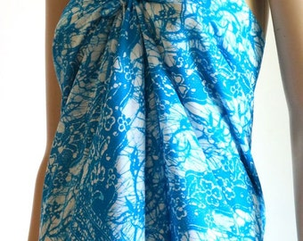 Batik Sarong with Flowers