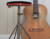 Vintage Musician's Stool // Folding Stool // Portable Traveling Stool